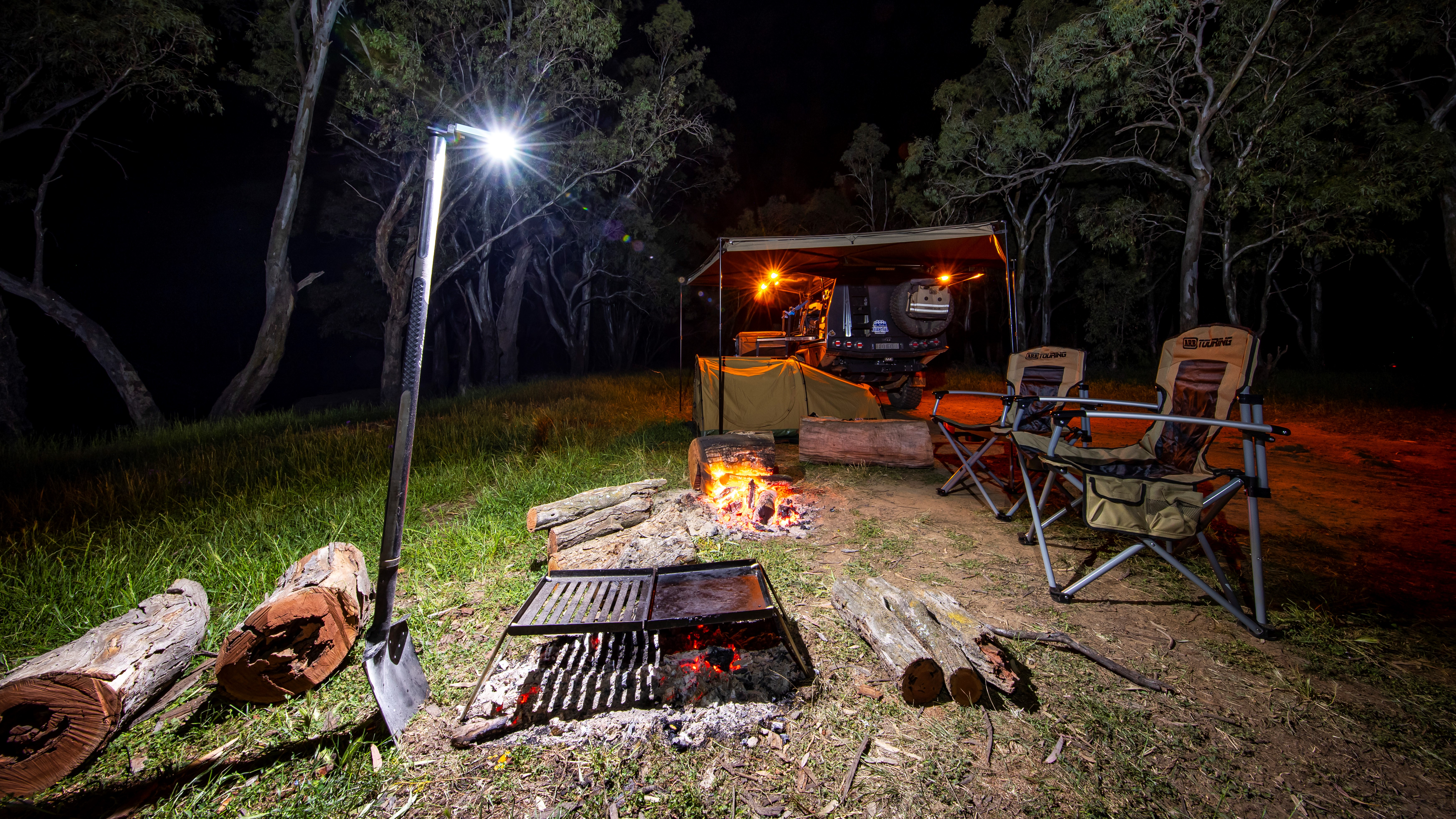ARB Horizontal Work Light campsite